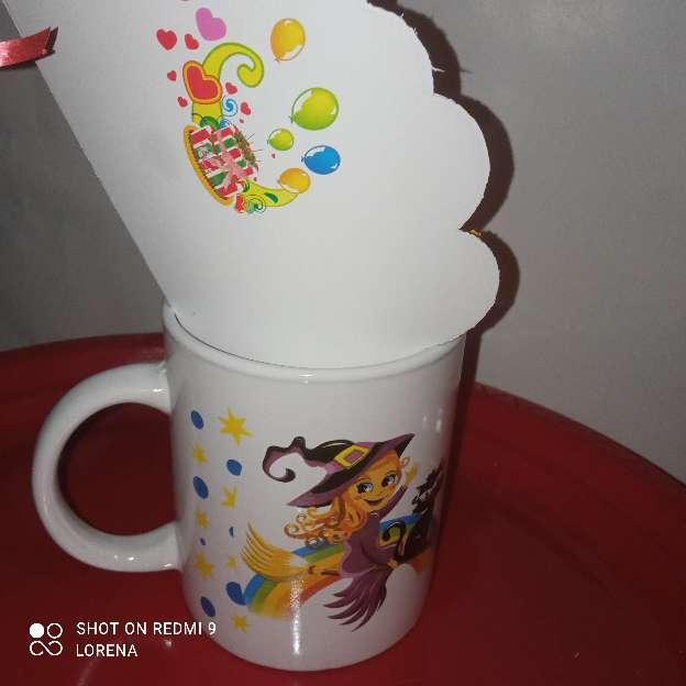 Imagen taza dulce brujita