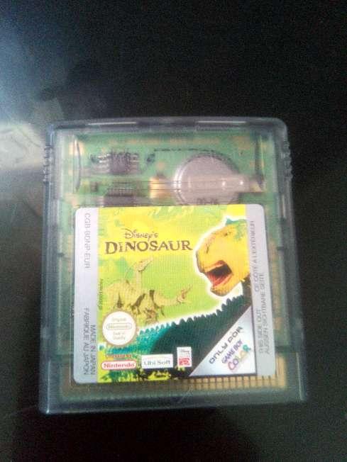 Imagen juego de Game boy dinosaurios