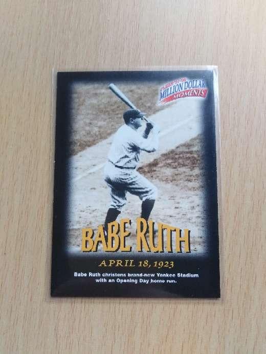Imagen Babe Ruth. Baseball.