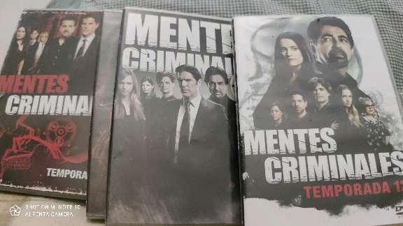 Imagen producto Séries  mentes griminales 3