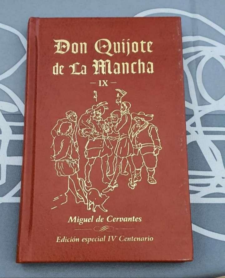 Imagen libro don quijote de la Mancha
