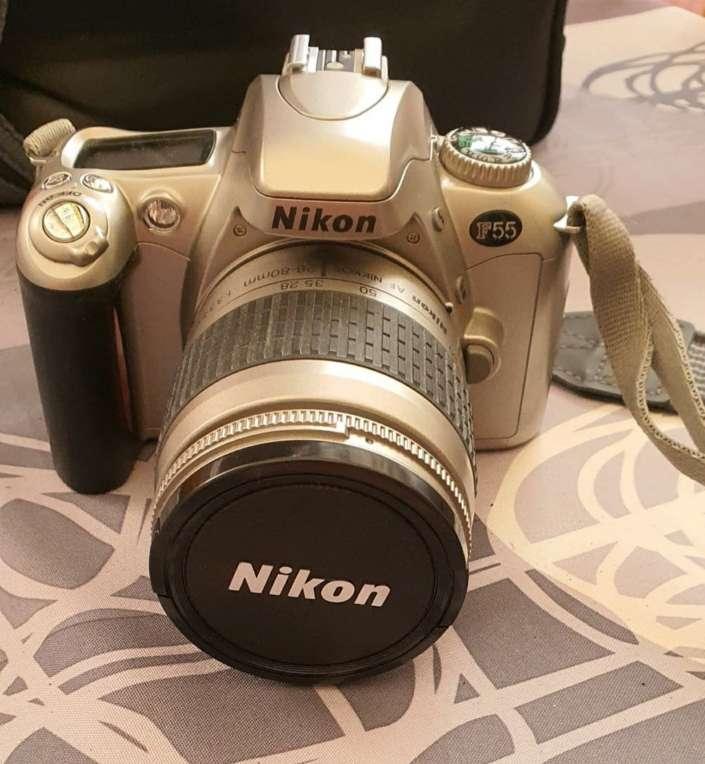 Imagen camara de fotos nikon
