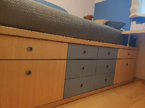 Imagen mueble para cama infantil
