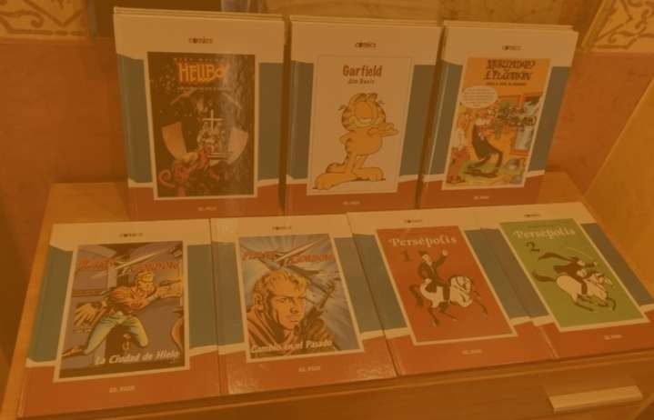 Imagen Pack con siete comics de tapa dura de  El País