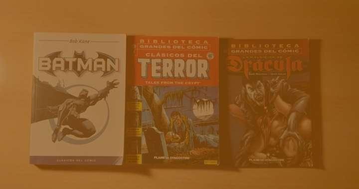 Imagen Pack con 3 tomos de cómics varios