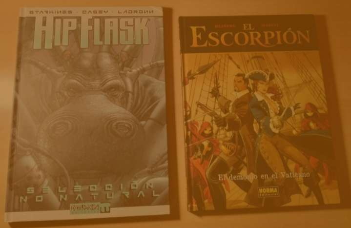 Imagen Comic Hip Flask - Selección no natural + Cómic El Escorpión - El demonio en el Vaticano