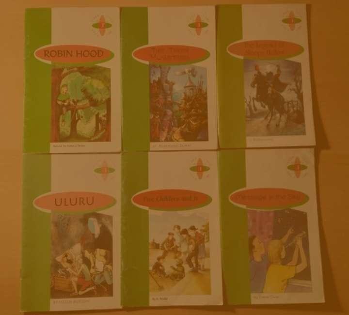 Imagen Pack con 12 libros infantiles escolares en ingles