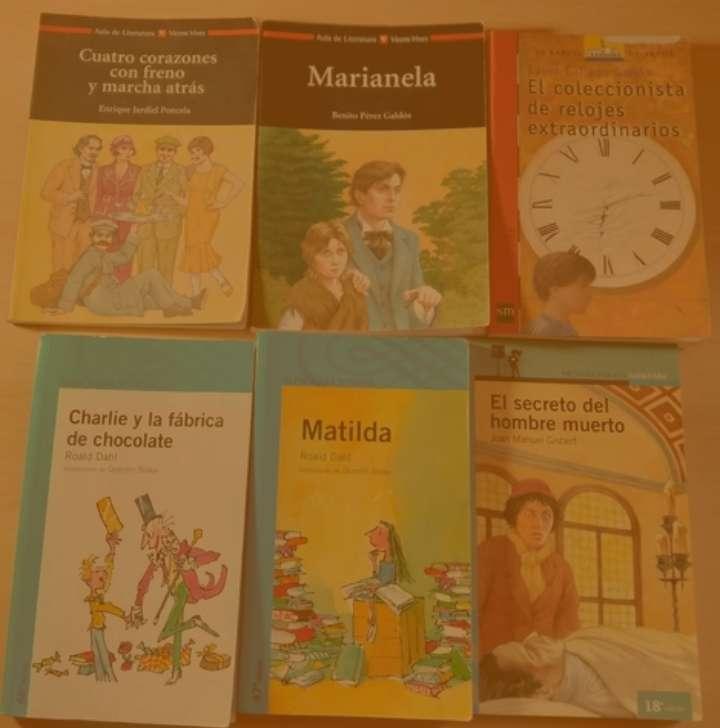 Imagen Pack con 6 libros infantiles y juveniles en castellano