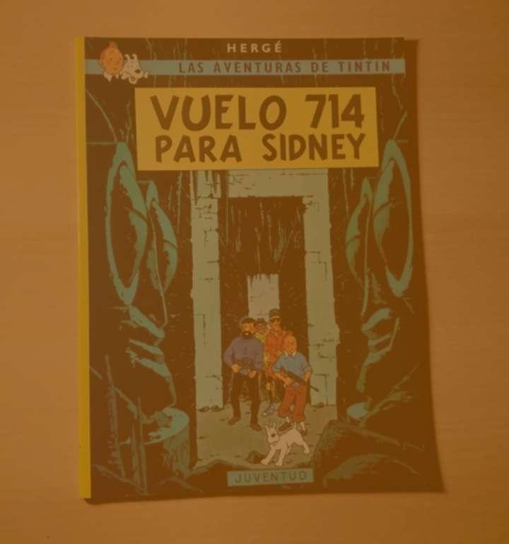 Imagen Las aventuras de Tintín - Vuelo 714 para Sídney