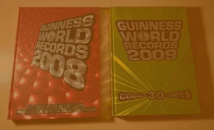 Imagen Guinness World Records 2008 y 2009