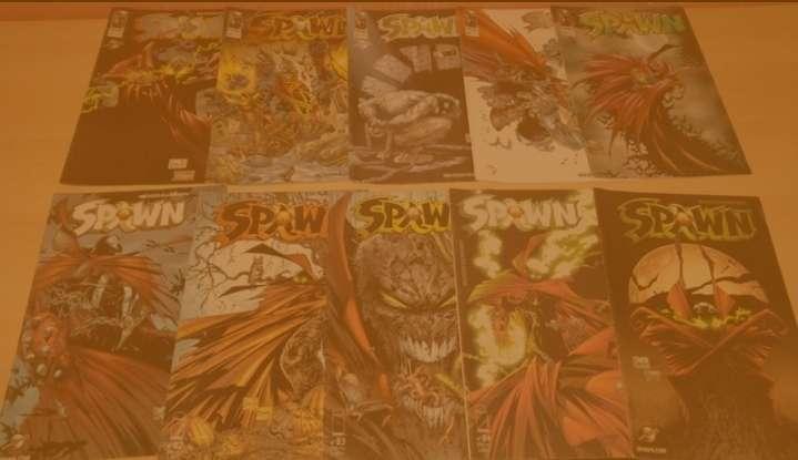 Imagen Pack de cómics de Spawn Volumen 1 y Volumen 2.  Pack con 47 cómics.