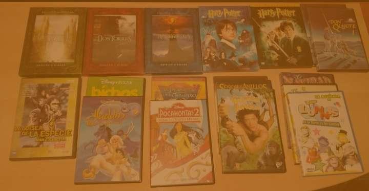 Imagen Pack de películas variadas: best sellers + infantiles. Pack con 18 películas. DVD.