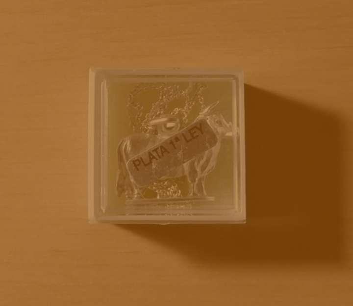 Imagen producto Colgante de Plata 1ª ley con forma de toro (Arbexa, Zaragoza) 2