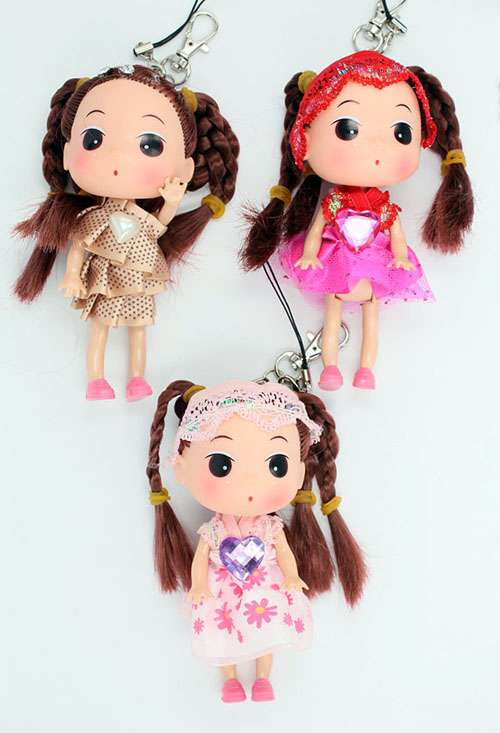 Imagen Llaveros muñecas