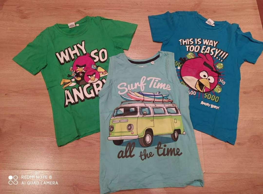 Imagen 8 años lote 3 camisetas verano