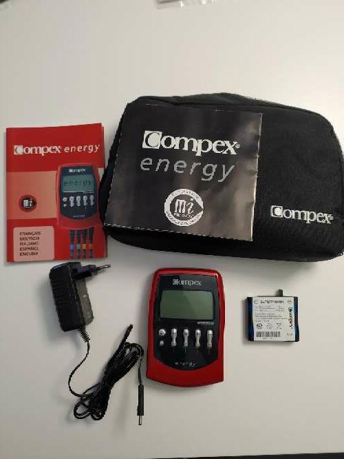 Imagen Electroestimulador Compex Energy