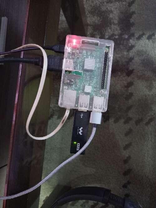 Imagen rasberry 3.0 con mandos