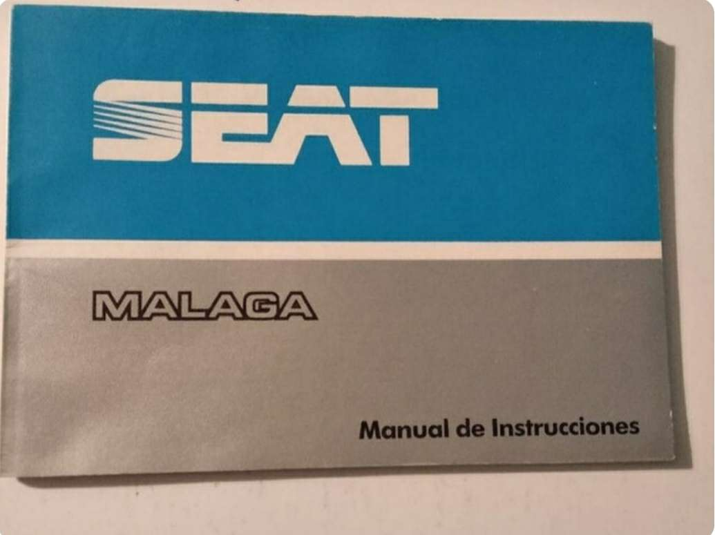 Imagen manual Seat Málaga