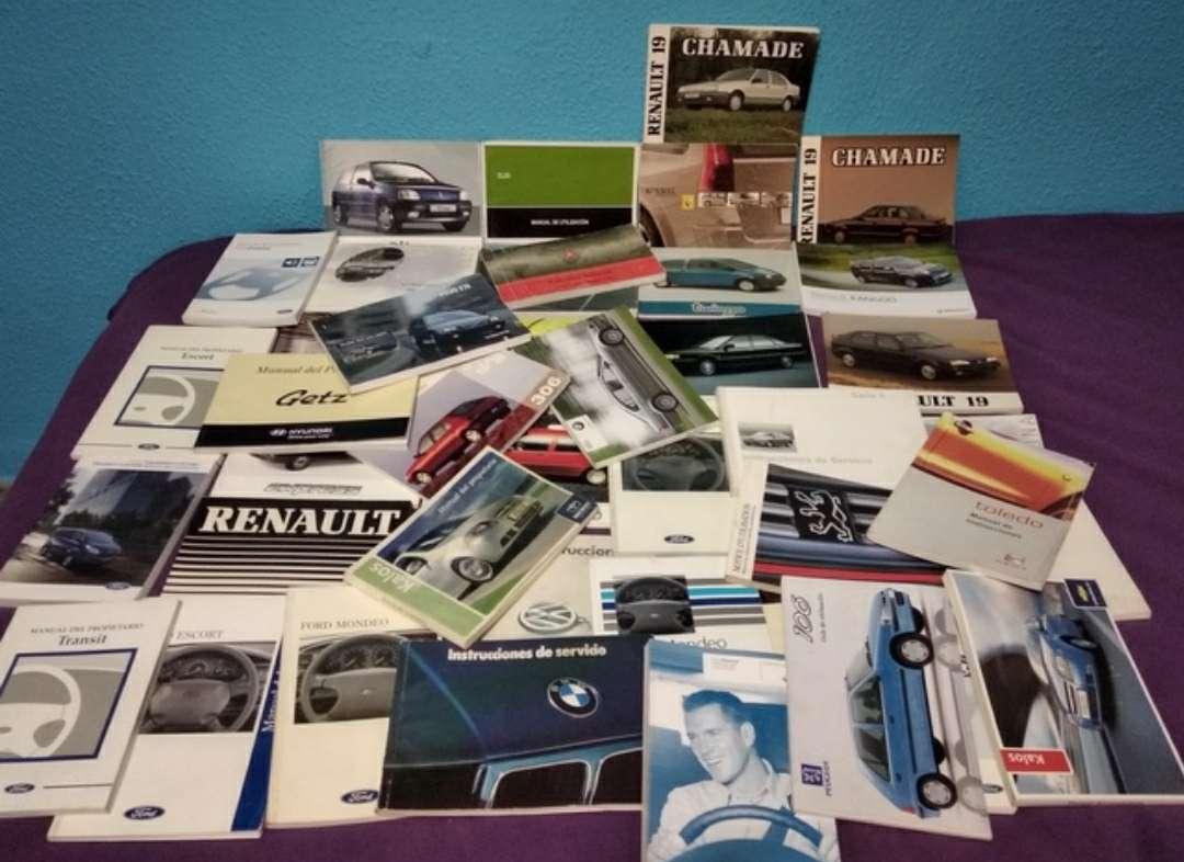 Imagen manuales instrucciones coches