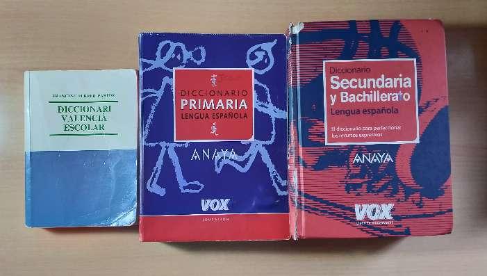 Imagen Pack con 3 diccionarios usados