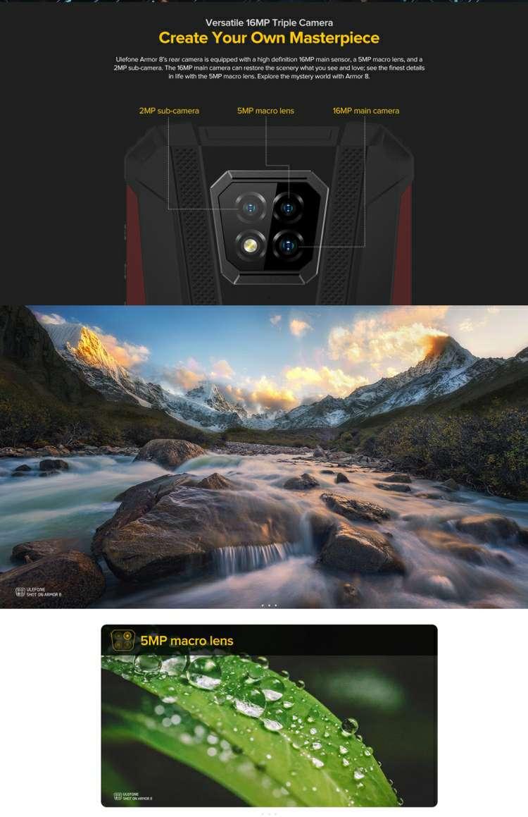 Imagen producto ULEFONE ARMOR X8  3