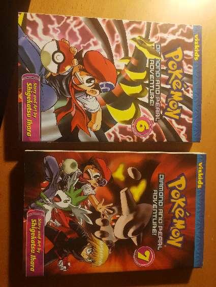 Imagen Mangas diamante y perla pokemon (inglés)