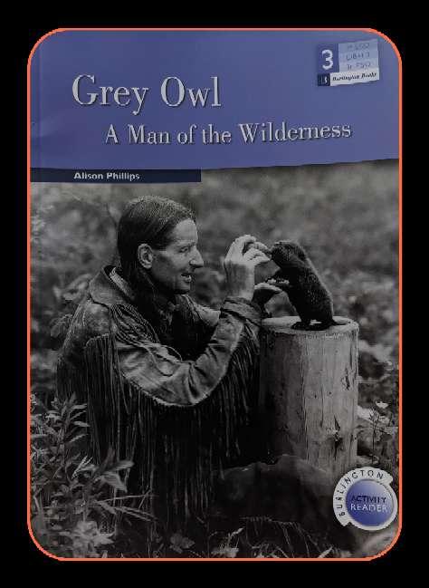 Imagen Grey Owl A man if the Wilderness