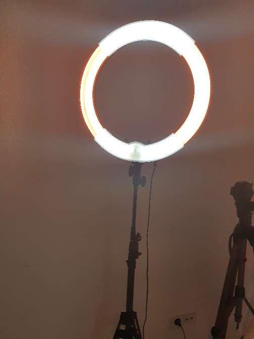 Imagen aro de luz