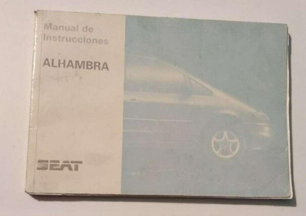 Imagen manual Seat Alhambra 1