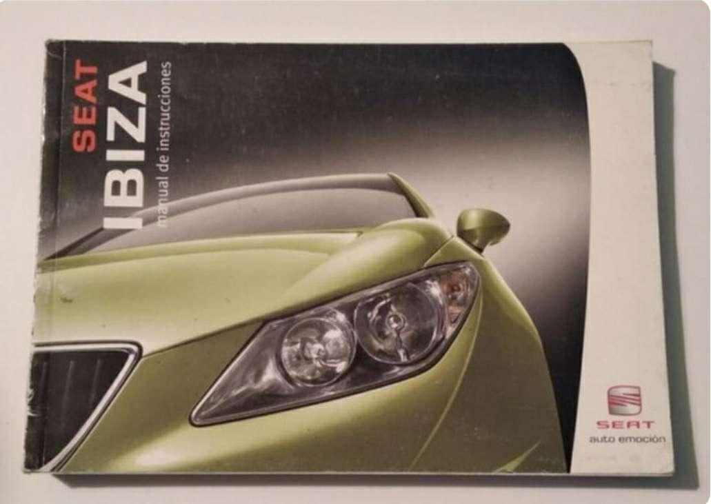 Imagen Manual Seat Ibiza 2008