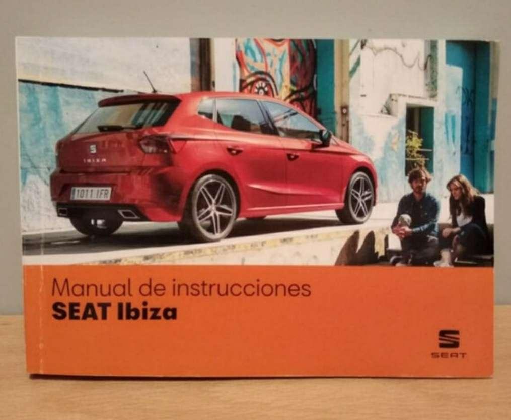 Imagen Manual Seat Ibiza 2018