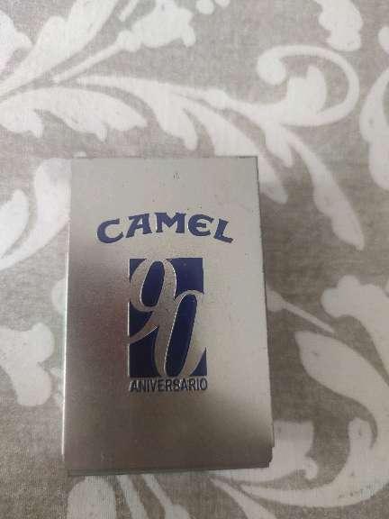 Imagen caja y mechero camel 90 aniversario