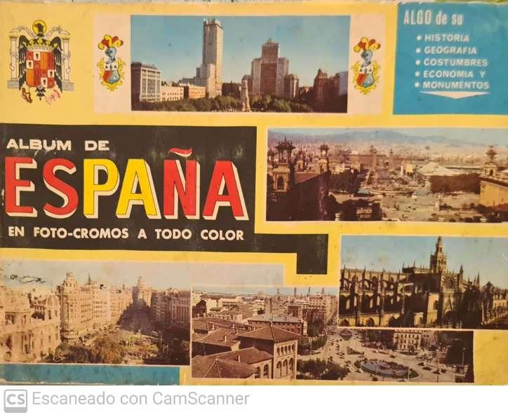 Imagen Album de foto-cromos España
