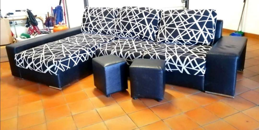Imagen Sofá chaise longue.