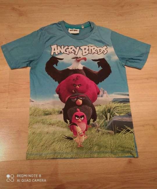 Imagen 12 años.- Camiseta verano Angry Birds