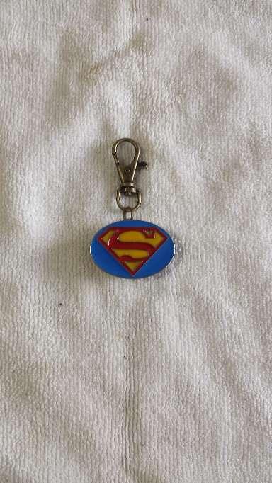 Imagen producto Llavero Superman lacado reloj 1