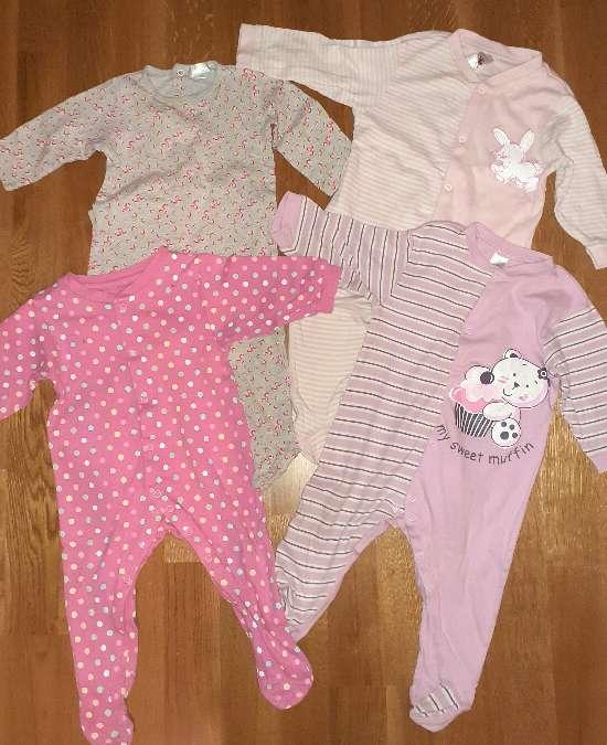 Imagen producto Lote de pijamas, 9-12m.  2