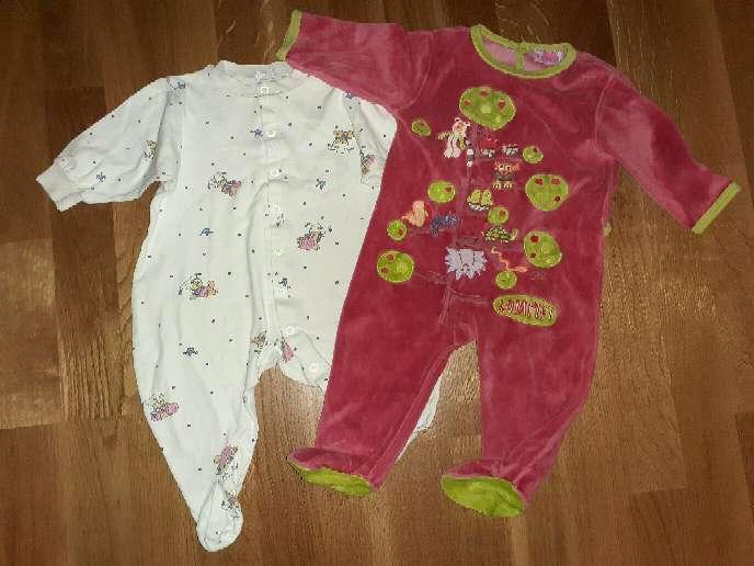Imagen producto Lote de pijamas bebé, 6m.  3