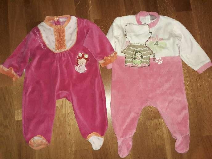 Imagen producto Lote de pijamas bebé, 6m.  4
