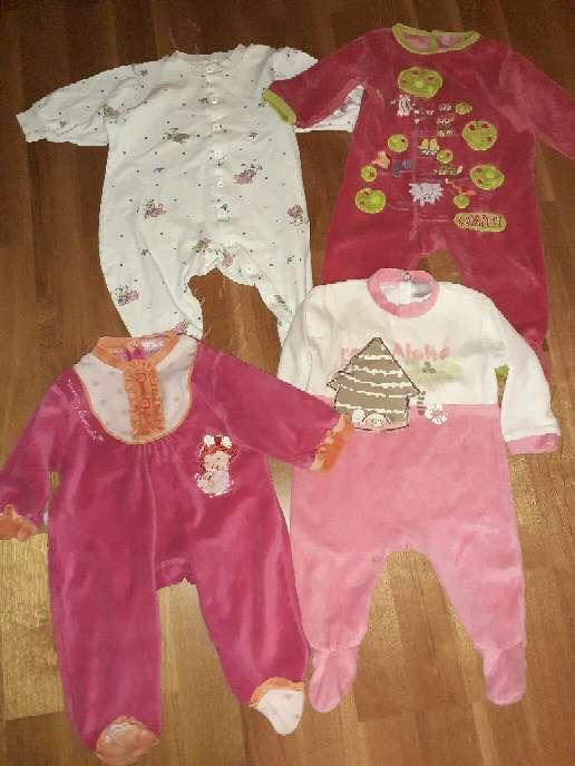 Imagen producto Lote de pijamas bebé, 6m.  2