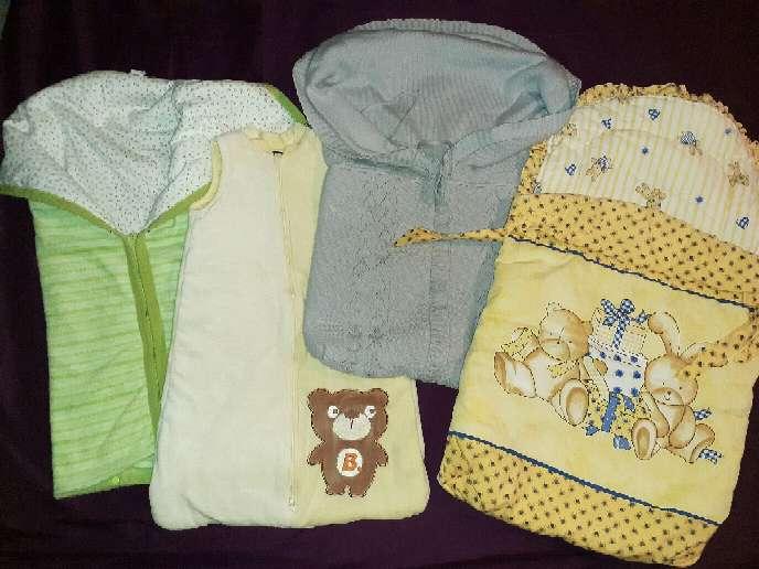 Imagen Lote 4 sacos bebé, 0-6m.