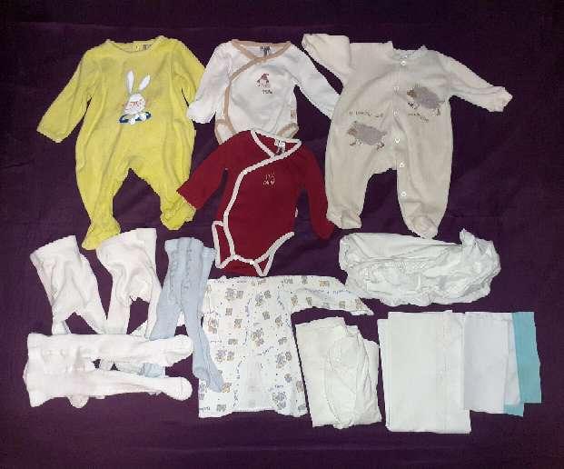 Imagen producto Lote Bebé recién nacido 0-1m.  1