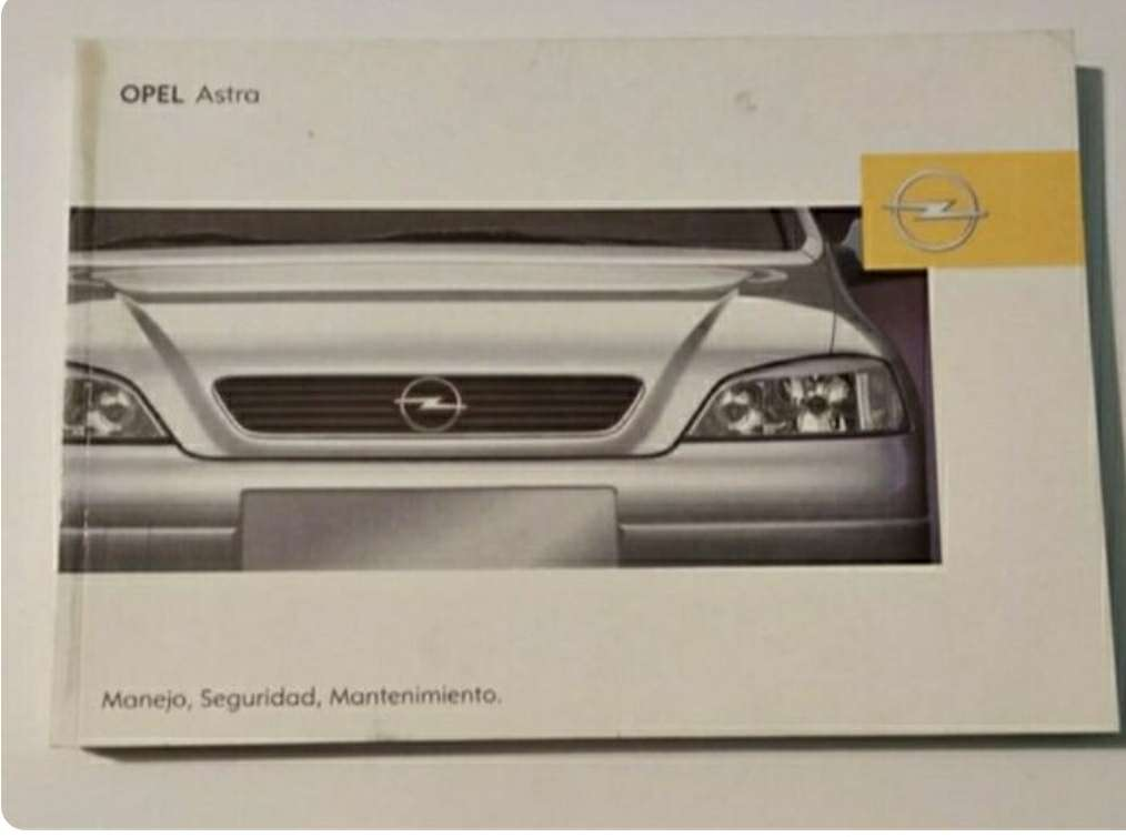 Imagen manual Opel Astra