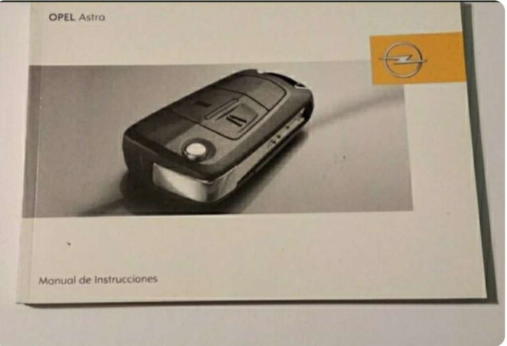Imagen manual Opel Astra 2006 al 2010
