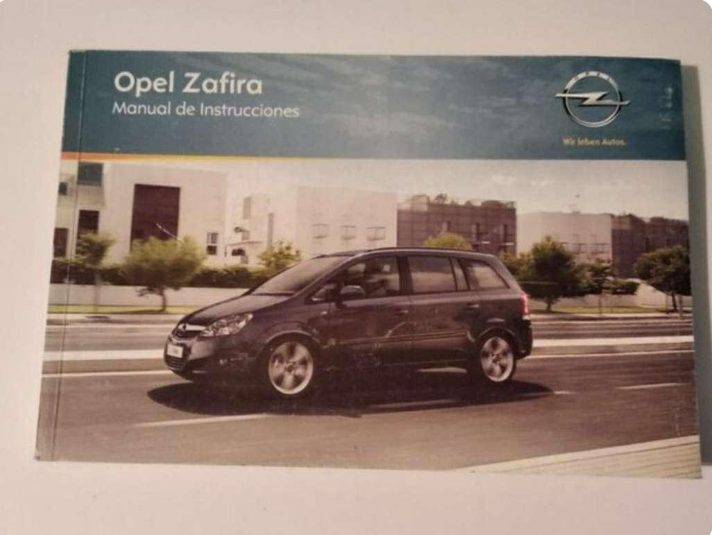 Imagen manual Opel Zafira