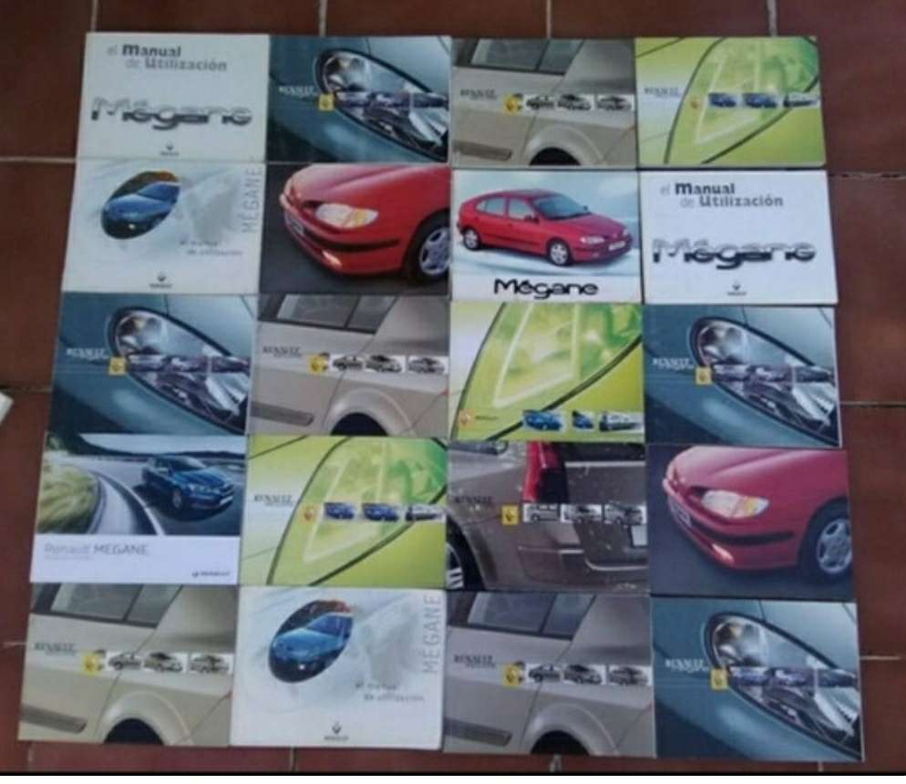 Imagen manuales Renault Megane
