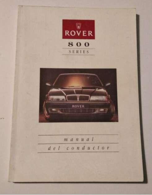 Imagen manual Rover 800