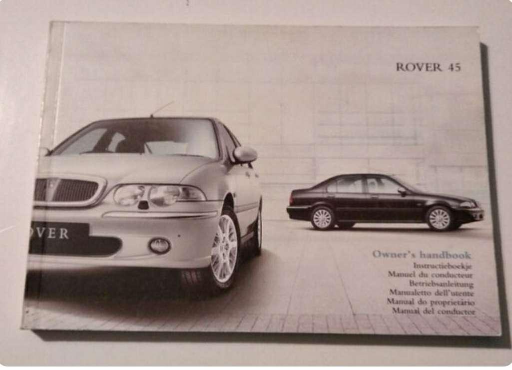 Imagen manual Rover 45 2002-2005