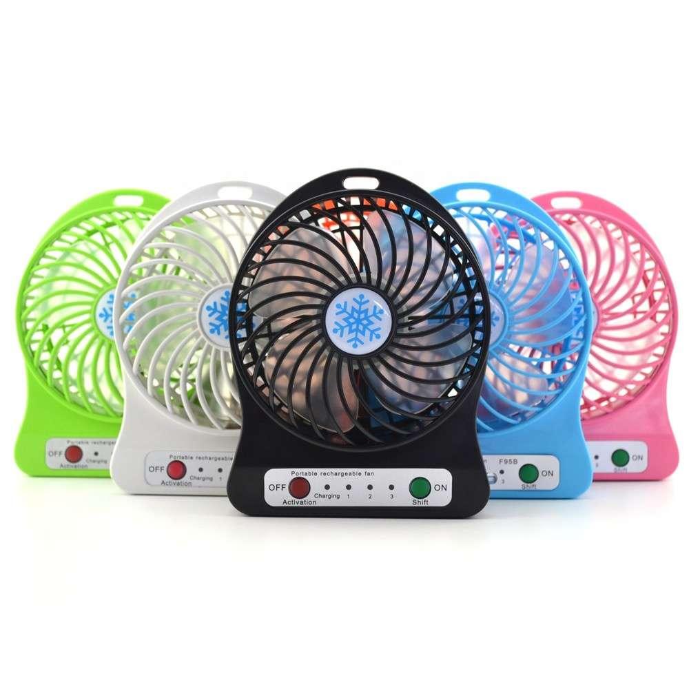 Imagen producto Mini ventiladores recargables  1