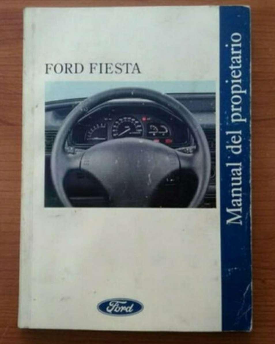 Imagen manual Ford fiesta mk3